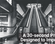 Pitch to impress in 30 seconds
