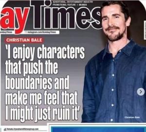 Interview Christian Bale