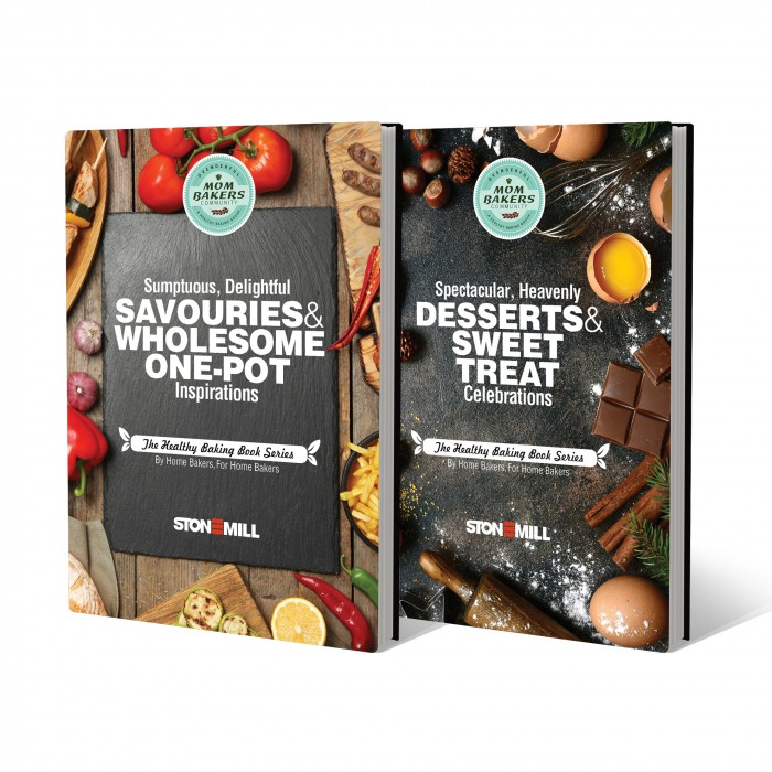 Healthy Baking Book Series Sweet+Savoury