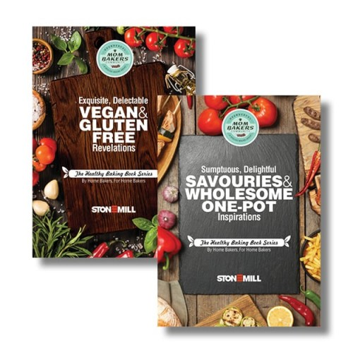 Healthy Baking Book Series Vegan+Savoury