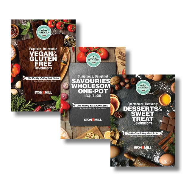 The Healthy Baking Book Series Set